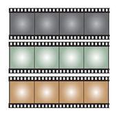 film strip vector illustration — Stock Vector
