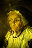 Portrait of a great-grandmother (Портрет прабабушки) — Stock Photo