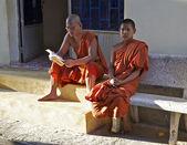 Buddhistic monks are in Vietnam — Zdjęcie stockowe