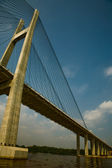 Bridge over the Saigon River — Stock Photo