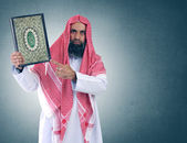 Islamic arabian sheikh — Stock Photo