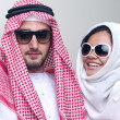 Arabian couple — Stock Photo