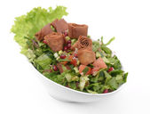 Fattoush Salad , Lebanese salad — Stock Photo
