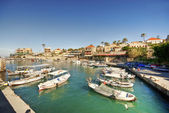 Small harbor, Byblos, Lebanon — Stock Photo