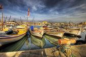 Small harbor, Byblos, Lebanon — Stock Photo