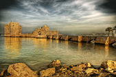 Crusader Sea Castle, Sidon, Lebanon — Stock Photo