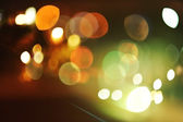 Defocused urban abstract texture — 图库照片