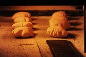 Fresh arabic bread — Stock Photo