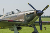 Hawker Hurricane fighter plane — Stock Photo