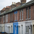 Terraced housing — Stock Photo