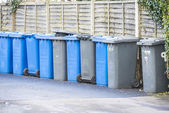 Waste bins — Stock Photo