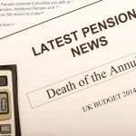 Постер, плакат: Pension change documents