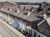 Викторианский британский рядовой жилье — Стоковое фото