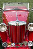 Vintage MG TA sportscar — Stok fotoğraf