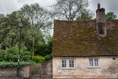 Old English house — Stock Photo