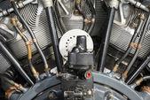 Radial aero engine — Stock Photo