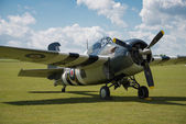 Vintage Grumman Wildcat fighter — Stock Photo