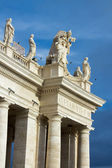 Colonnade of Saint Peter's square — Stock Photo