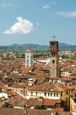 City center of Lucca — Stockfoto