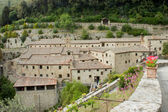 Hermitage cells of St Francis of Assisi, Cortona — Stock Photo
