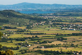 View of Val di Chiana in Tuscany — Stock Photo