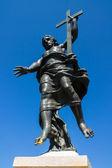 Estatua del redentor jesús en cerdeña — Foto de Stock