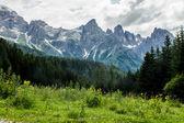 Bergen van de dolomieten — Stockfoto