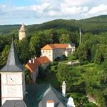 Rožmberk castle — Stockfoto
