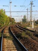 железная дорога — Стоковое фото