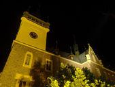 Pseudo-gothic castle — Stock Photo