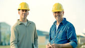 Construction Foremen — Stock Photo