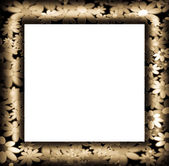 Frames decorated with colorful flowers — Stockfoto