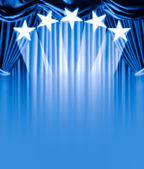 Curtain vip — Stock Photo