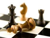 Satranç Şah-mat — Stok fotoğraf