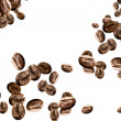 Flying coffee beans — Stock Photo #51275373