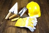 Construction plans — Stock Photo