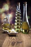 Petrol ve zeytin — Stok fotoğraf