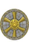 Round Medieval Shield — Vetorial Stock