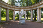 Apollo's colonnade in summer, Pavlovsk, Saint Petersburg, Russia — Stock Photo