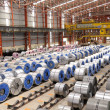 Stock Photo: Steel Rolls Factory.