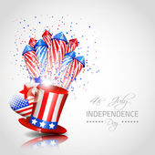 Independence Day Background - Vector — Stock Vector