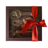 Chocolate toolset — Stock Photo