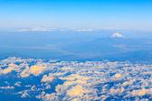 Mountain Fuji bird's eye view — Stock Photo