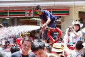 Songkran Festival — 图库照片