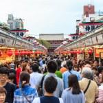 Nakamise shopping street — Stock Photo