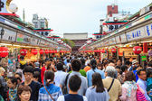 Nakamise shopping street — Stock Photo