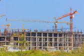 Construction building — Stock Photo