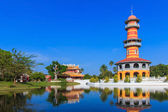 Bang Pa-In Palace in Phra Nakhon Si Ayutthaya,Thailand — Stock Photo