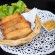 Fried Spring Rolls (Por Pia Tod) — Stock Photo #43466333