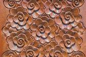 Wood Thai pattern — Stock Photo